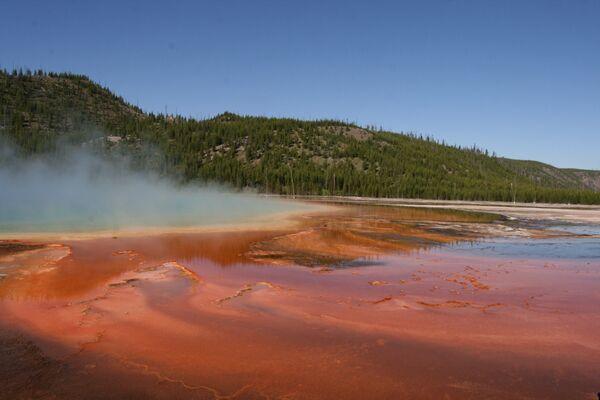Prismatic Pool ~ Midway Geyser Basin, Yellowstone