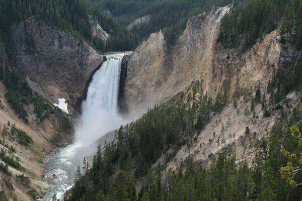 Yellowstone Falls ~ Yellowstone Grand Canyon