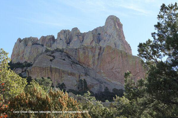 Coloured Rocks, Cave Creek, Arizona