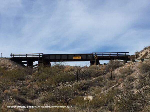 Bosque Del Apache, Wooden Bridge, New Mexico