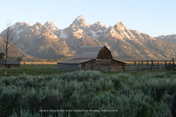 157. Moulton Barn, Grand Teton