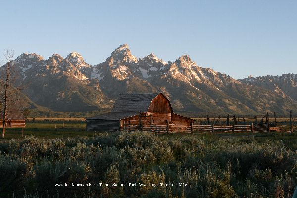 158. Moulton Barn Grand Teton