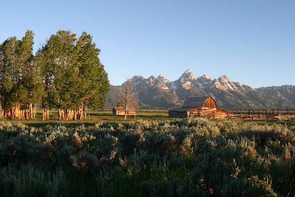 160. Moulton Barn, Grand Teton