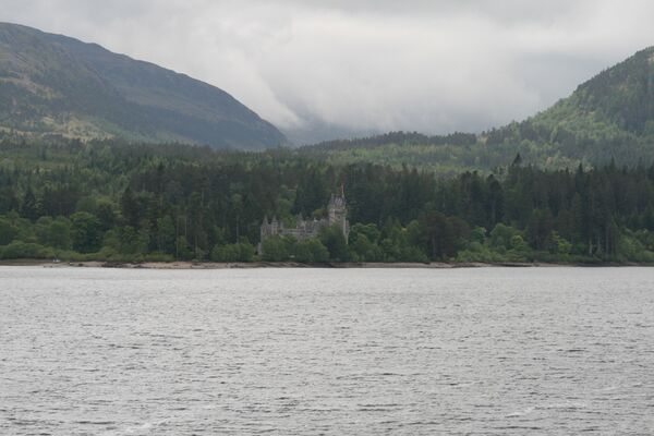 Glenbogle Castle, Monarch of the Glen ~ Ardverikie House, Kinloch Laggan