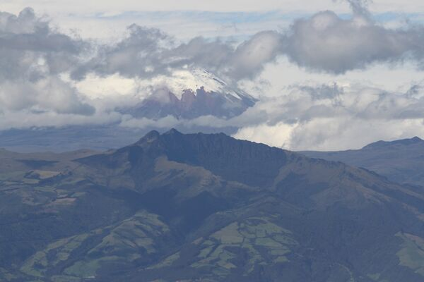 Cotopaxi from Pinchincha Volcano