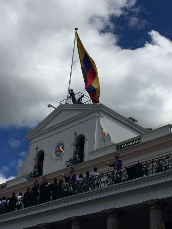 Quito ~ Changing of the Guard celebrations
