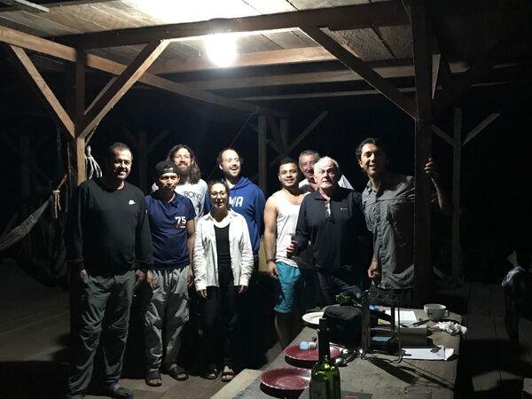 Paul's Birthday, Isla la Escondida