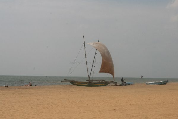 Fishing Boat, Negambo Beach