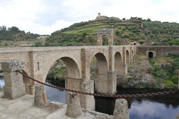 Roman Stonearch Bridge, Alcantara