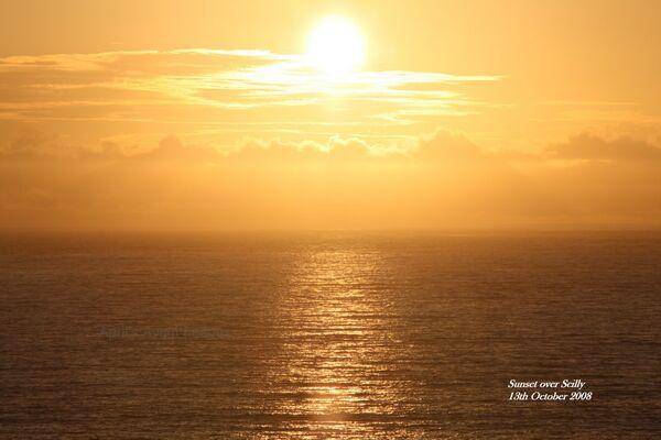 2008 ~ October Sunset