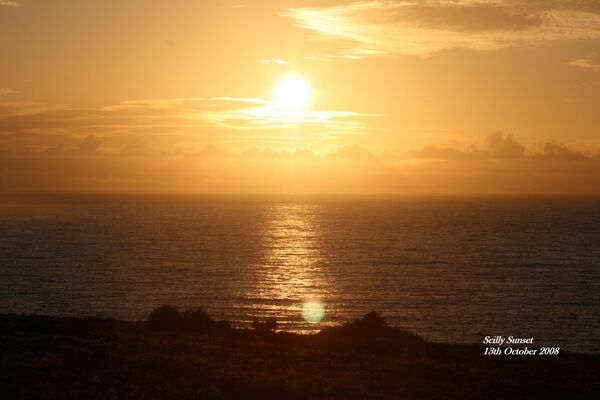 Sunset over Bishop