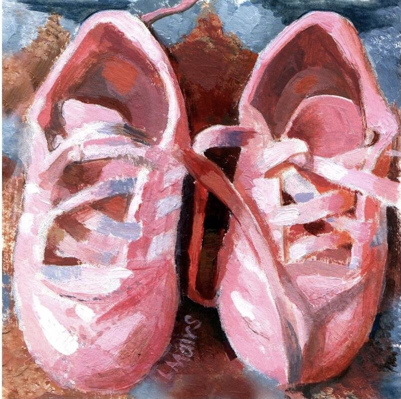 Little pink trainers