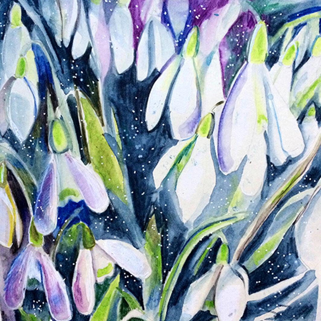 snowwatercolour