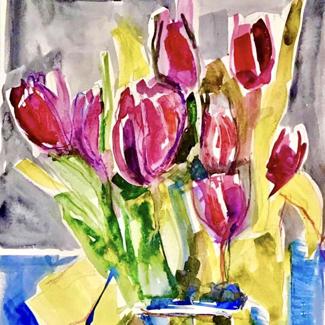 tulipsBLUE