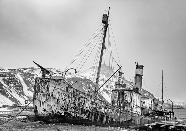 Abandoned  Whaling  Ships