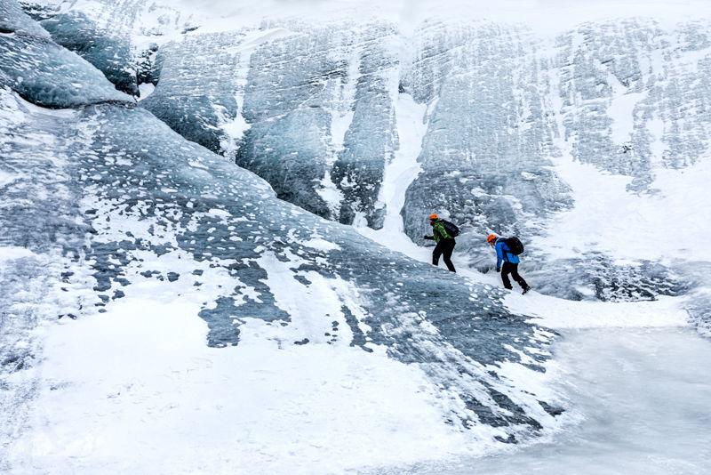 Climbing the Glacier 2