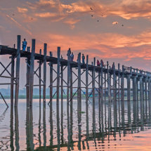 Dawn on the Teak Bridge