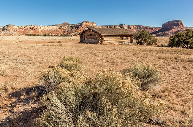 Georgia Okeeffes Ghost Ranch 2