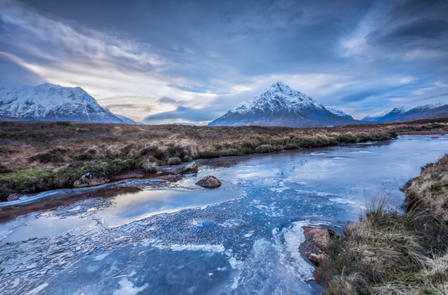 Glen Coe winter Landscape