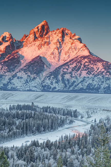 Grand Tetons-Sunrise