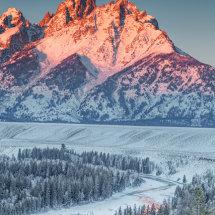 Grand Tetons-Sunrise