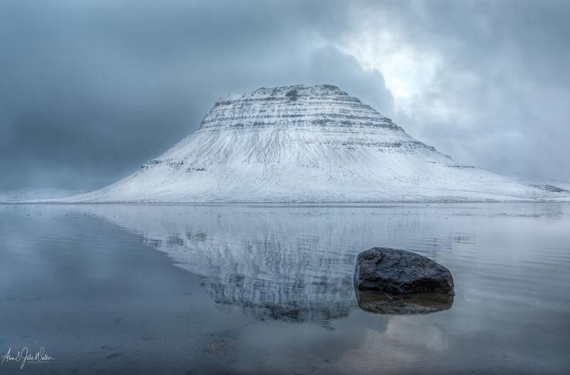 Hálsvaðall Lagoon & Kirkjufell Mountainn