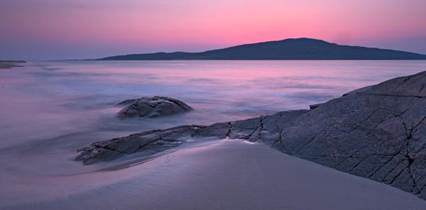 Harris-Coast-sunset-