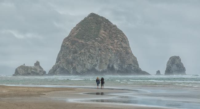 Haystack Rock Cannon Beach Oregon Coast
