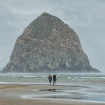 Haystack Rock Cannon Beach Oregon Coast