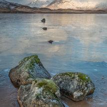 Ice on Rannoch Moor