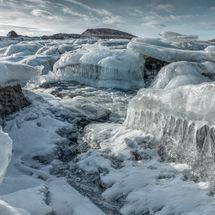 Langárfoss Waterfall 1
