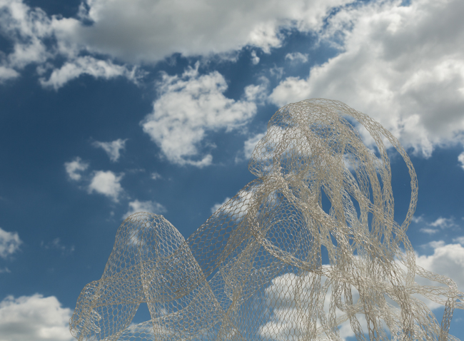 Net Sculpture Bagno Vignoni
