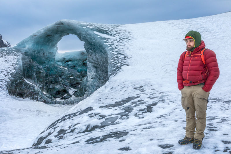 The Guide on Vatnajökull Glacier