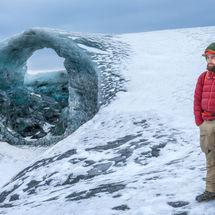 The Guide on Vatnajökull Glacier