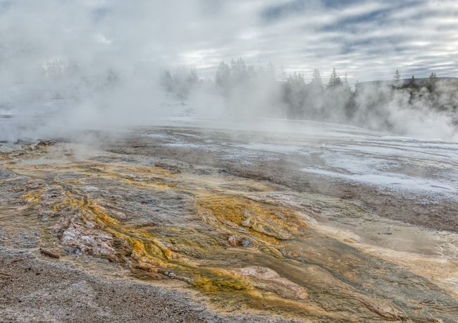 Thermal Feature 2Yellowstone Jan 2014-1682