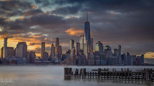 Wallstreet sunrise Skyline 1