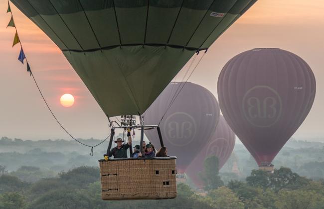 Lift Off Bagan