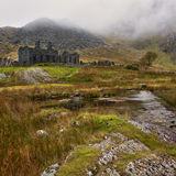Derelict Buildings, Slate Mine,Cwmorthin