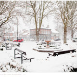 The Fountain in the Snow Harpenden