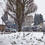 Church Green in the Snow