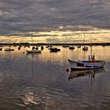 Boats on River Alde, Aldeburgh 2