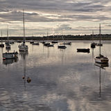Boats on River Alde, Aldeburgh 3