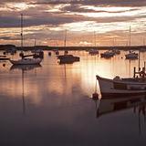 Boats on River Alde, Aldeburgh 4