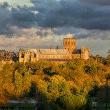 St Albans Abbey from Verulamium park