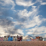 Houses on the skyline, Aldeburgh