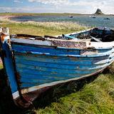 Lindisfarne Blue Boat