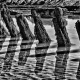 Ship Wreck Shadows and Reflections