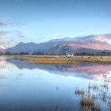 Farm house reflections, Loch Bain