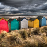View from the Beach Huts, Southwold