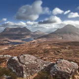 View from Stac Pollaidh of Cul Mor